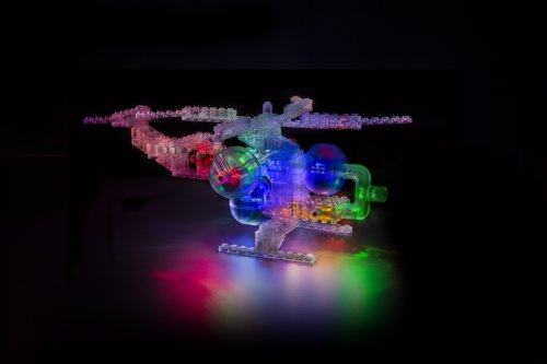 Laser Pegs 8 In 1 Helicopter Building Set Gifts For Teen
