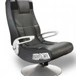 X Rocker Pedestal  Video Gaming Chair,  Wireless , Black