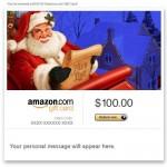 Amazon Gift Card - E-mail - Merry Christmas (Santa Claus)