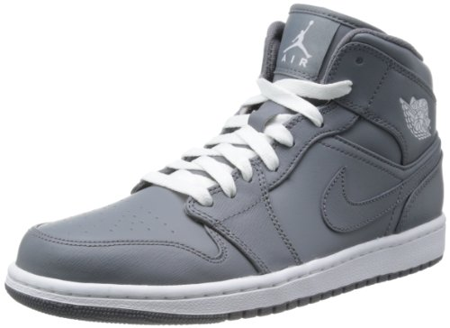 grey jordan shoes for men
