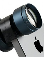 olloclip Telephoto Lens and Circular Polarizer Filter - Retail Packaging - Black