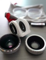 Olloclip 4-in-1 Lens Solution for iPhone 5/5s - Silver/White