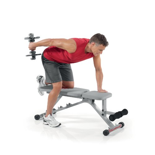 Universal Power Pak 445 Adjustable Dumbbells With Stand