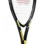 Wilson Tour Slam Adult Strung Tennis Racket, 4 1/4