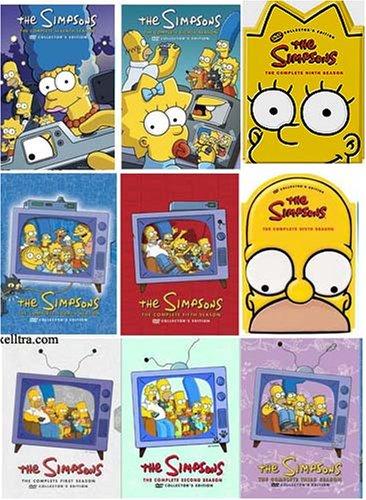 The Simpsons – Complete Seasons 1-9 Bundle