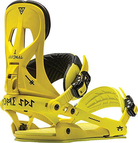 Rome Arsenal Snowboard Bindings Mens Unisex (Lime, L/XL)
