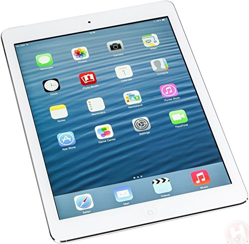 Factory Unlocked Apple iPad AIR (32GB, Wi-Fi + 4G LTE, White with Silver) Newest Version