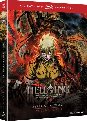 Hellsing Ultimate: Volumes 5 – 8 Collection (Blu-ray/DVD Combo)