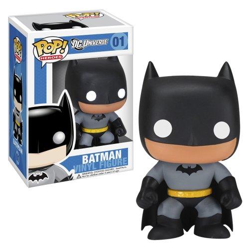 Funko Batman POP Heroes Batman Doll - Stocking Stuffers for Teen Boys