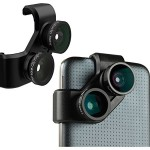 olloclip 4-in-1 Photo Lens for Samsung Galaxy S5 - Black/Black