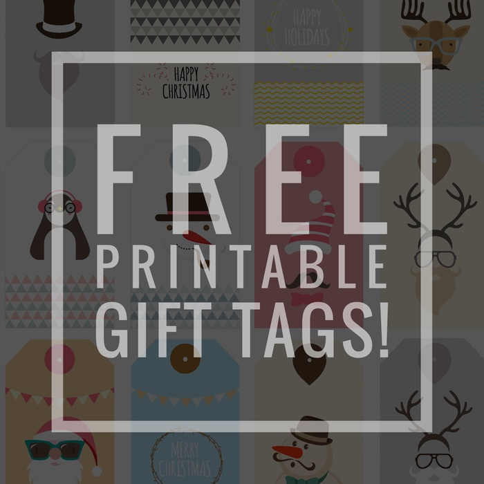 Free Printable Tags - Gifts for teen boys