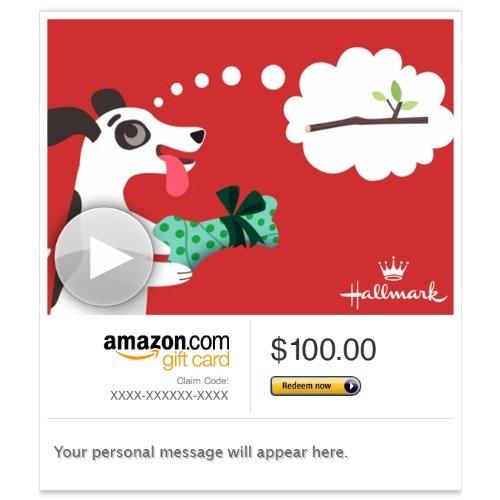 Amazon Gift Card – E-mail – Christmas Surprise (Animated) [Hallmark]