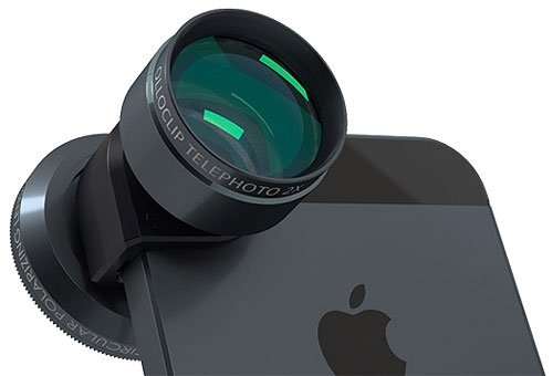olloclip 4-in-1 Photo Lens for iPhone 5/5s – Black/Gray