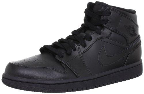 Jordan Men's Air Jordan 1 Mid Basketball Sneakers 554724 010, 10.5