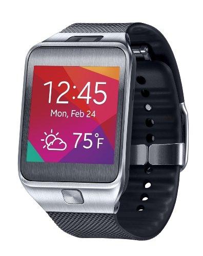 Samsung Gear 2 Smartwatch – Silver/Black (US Warranty)