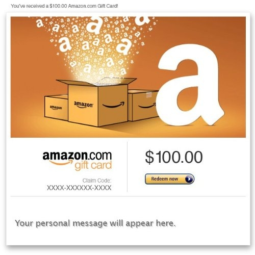 Amazon Gift Card – E-mail – Amazon Boxes