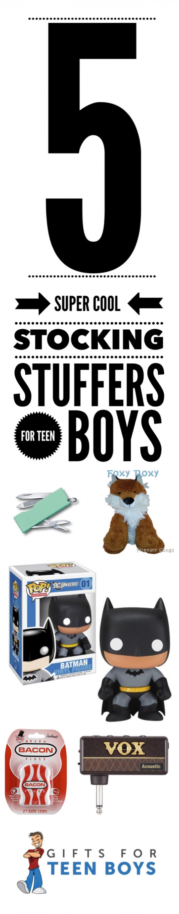 5 Super Cool Stocking Stuffers for Teen Boys - Gifts for Teen Boys