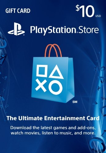$10 PlayStation Store Gift Card – PS3/ PS4/ PS Vita [Digital Code]