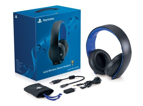 PlayStation Gold Wireless Stereo Headset – Jet Black