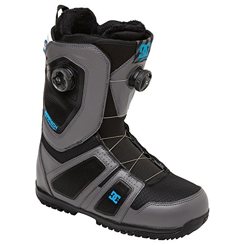 DC Men's Judge Snowboard Boot,Grey,11 US/11 M US