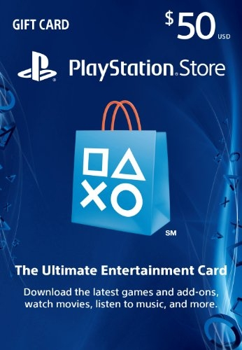 $50 PlayStation Store Gift Card – PS3/ PS4/ PS Vita [Digital Code]