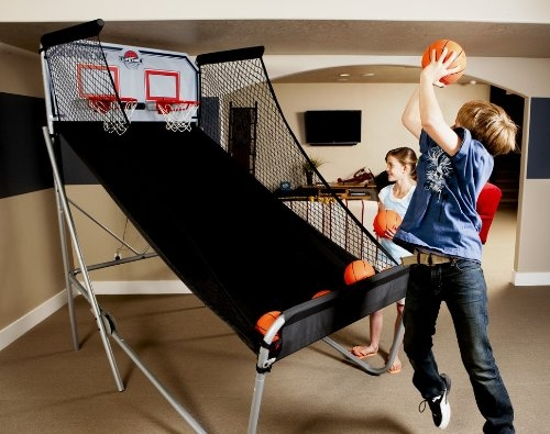 Lifetime Double-Shot Arcade Basketball System