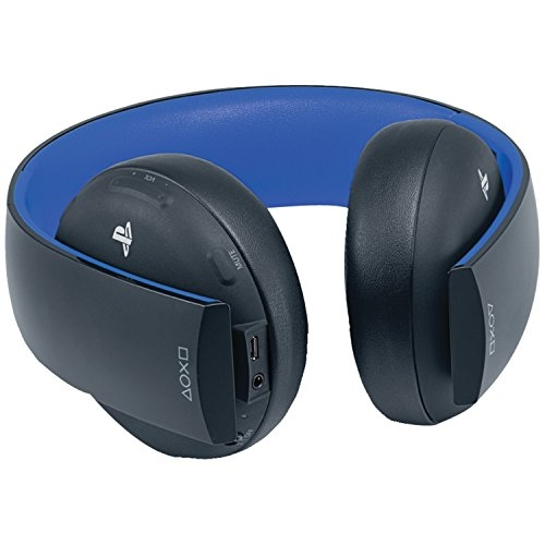 PlayStation Gold Wireless Stereo Headset – Jet Black