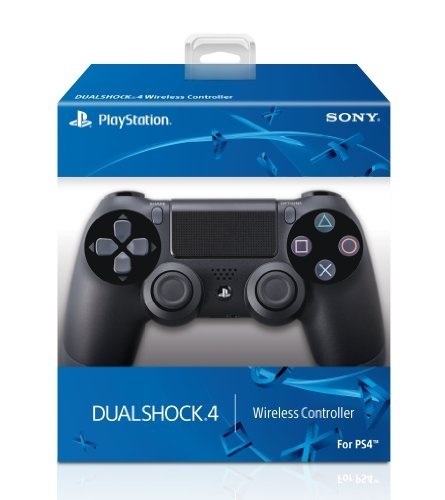 DualShock 4 Wireless Controller for PlayStation 4 – Jet Black