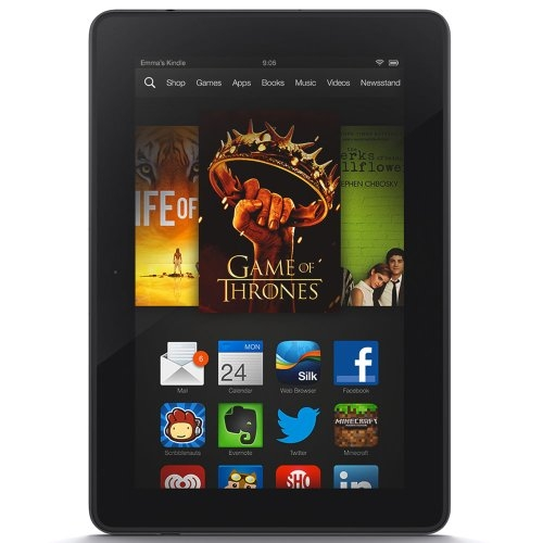 Kindle Fire HDX 7″, HDX Display, Wi-Fi, 32 GB (Previous Generation – 3rd)