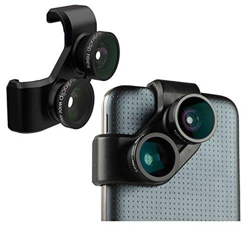 olloclip 4-in-1 Photo Lens for Samsung Galaxy S5 – Black/Black