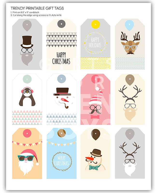 Gift tags are the new trend and Gifts for Teen Boys is here to help. Enter  your email address and receive this 100% Free high-resolution downloadable  PDF.